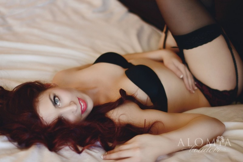 Boudoir shoot with Miss K.