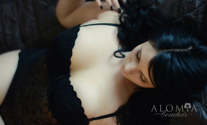 Boudoir Shoot with Miss A.