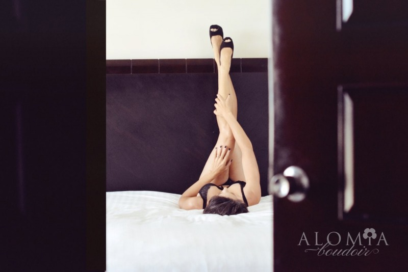 Boudoir Shoot with Miss T.
